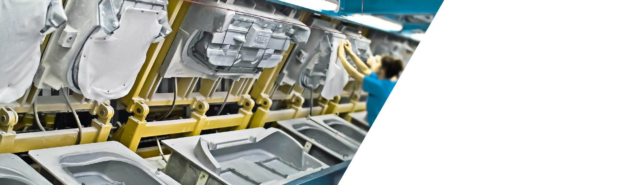 Modular systems for the manufacture of moulded foam products